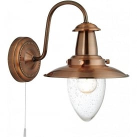 5331-1CU Fisherman 1 Light Wall Light Copper
