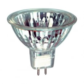 03951 50mm Halogen Dichroic 50w 12 volt GX5-3/MR16 Clear Flood Beam Bulb