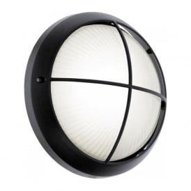 93264 Siones 1 Light LED Wall Light Black