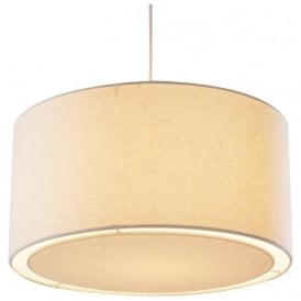 EDW6533 Edward Non Electrical Pendant Cream
