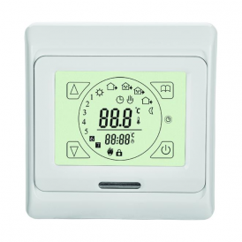 OHTT16 Electric Heating Digital Touch Screen Thermostat 16A Air & Under floor