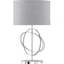 1514CC Rings Table Lamp Polished Chrome