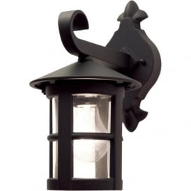 BL21 Hereford Outdoor 1 Light Wall Lantern Black IP43
