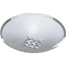 2198-32 Francesca 1 Light Flush Ceiling Light