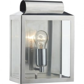 NOT2144 Notary 1 Light Outdoor Wall Light Stainless Steel IP44
