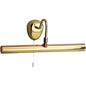3008PB Picture Lights 2 Light Wall Light Polished Brass