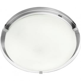 2541-38 Bathroom Flush Ceiling Light IP44