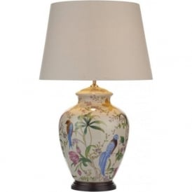 MIM4202/S1099 Mimosa 1 Light Table Lamp Ceramic