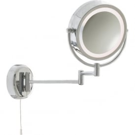 11824 Bathroom Lights 1 Light Wall Light Polished Chrome
