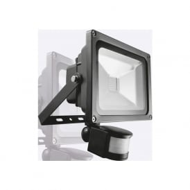 Phoebe Aruna PHT10WFLPIR 10w LED Flood Light IP65 Black