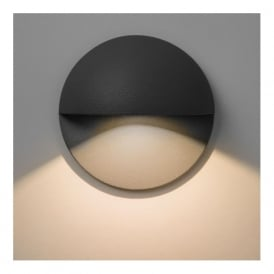 7264 Tivoli 1 Light Outdoor Wall Light Black IP65