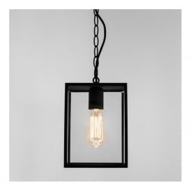 7207 Homefield 1 Light Outdoor Lantern Black IP23