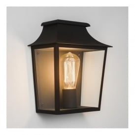 7270 Richmond 1 Light Outdoor Wall Light Black IP44