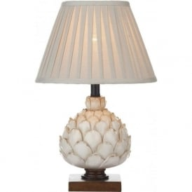 LAY4133/X Layer 1 Light Table Lamp Cream