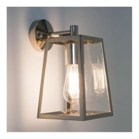 7106 Calvi Pendant 1 Light Outdoor Wall Light Polished Nickel IP23