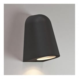7178 Mast Light 1 Light Outdoor Wall Light IP65 Black