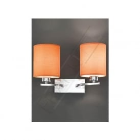 FL2082/2 Vivace 2 Light Wall Light Polished Chrome