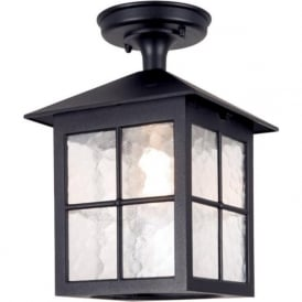 BL18A Winchester 1 Light Outdoor Porch Lantern Black IP44