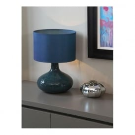 Evie Mosaic Table Lamp Teal