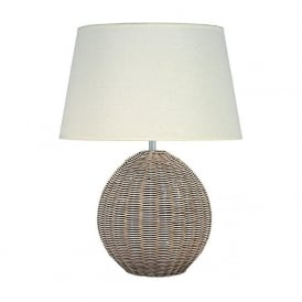 Pacific Lifestyle Raffles Table Lamp Cream