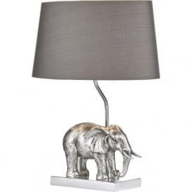 ENR4232/X Enrique 1 Light Table Lamp Antique Silver