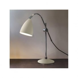 4552 Joel Grande 1 Light Adjustable Table Lamp Cream