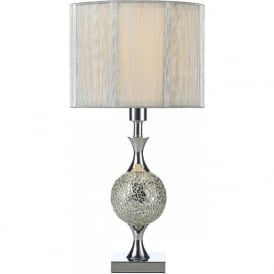 ELS4239 Elsa 1 Light Table Lamp Polished Chrome