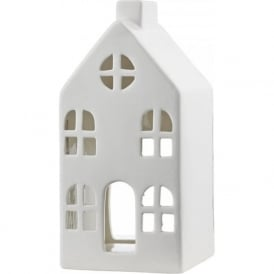 003W32001 House Ceramic Tealight Holder