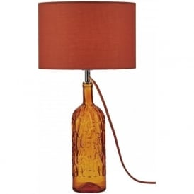 JOR4211 Jordan 1 Light Mosaic Table Lamp Orange