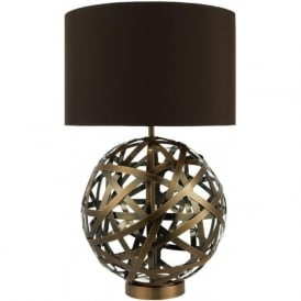 VOY4264 Voyage Table Lamp Antique Copper