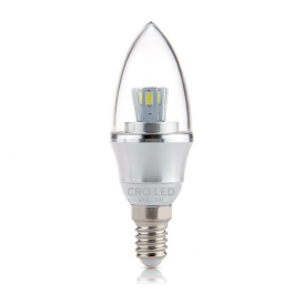 OCE-E1403/30 Mains 3w Candle Bulb Led Lamp Warm White
