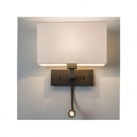 0540 Park Lane LED Wall Light Bronze with Shade
