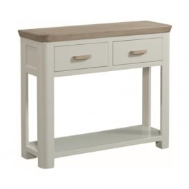 10508 Treviso Painted Oak Large Console With Drawers