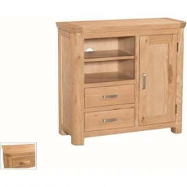 10091 Treviso Occasional Oak Media Unit