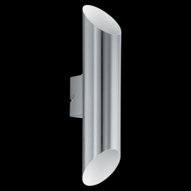 94803 Agolada 2 Light LED IP44 Wall Stainless Steel