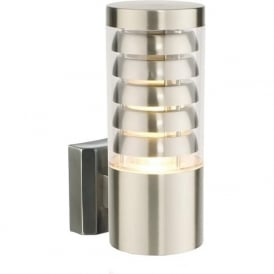 13921 Tango 1 Light LED Wall Light Brushed Stainless Steel