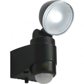 54408 Laryn PIR Battery-Operated LED Security Light IP44 Black