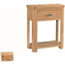 10095 Treviso Occasional Oak Small Console With Drawer