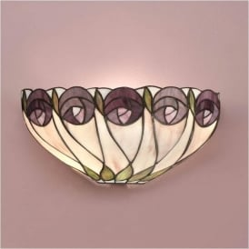 64178 Hutchinson 1 Light Tiffany Wall Light
