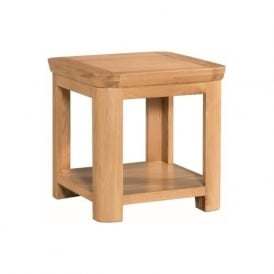 10101 Treviso Occasional Oak Lamp Table