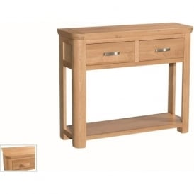 10094 Treviso Occasional Oak Large Console With Drawers
