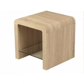 09340 Encore Sonoma End Table Oak Veneer