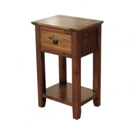 08718 Strathmore Occasional Acacia Telephone Table