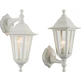 60965 Bayswater Outdoor Wall Light White IP44