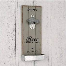 71-252 Metal Bottle Opener Wall Art