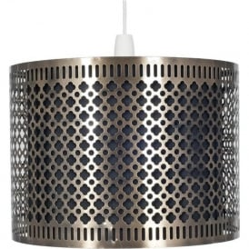 33-046 Neo Non Electric Easy Fit Pendant Antique Brass
