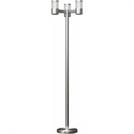 94281 Basalgo1 3 Light IP44 LED Post Lamp Stainless Steel