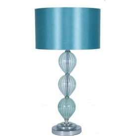 30-294-AQ-C Belle Aqua Table Lamp