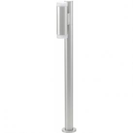 92738 Riga LED 2 Light IP44 Post Lamp Stainless Steel
