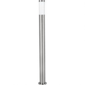 81752 Helsinki 1 Light IP44 Post Lamp Stainless Steel